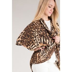 🐆ANIMAL PRINT CARDIGAN SHRUG🐆